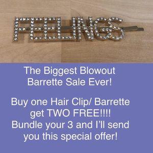 Hair Clip/Barrettes